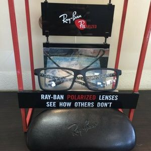 Ray Ban RB8901 5263 Men's Black Carbon Fiber Rx